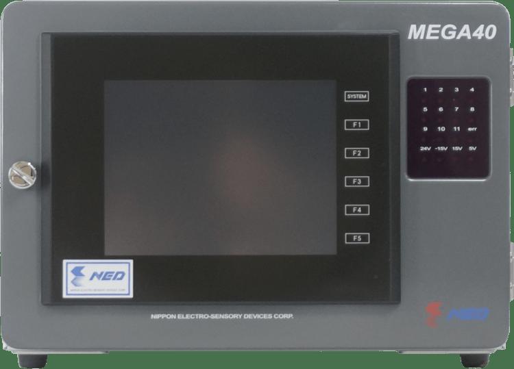 MEGA40 controller front 1