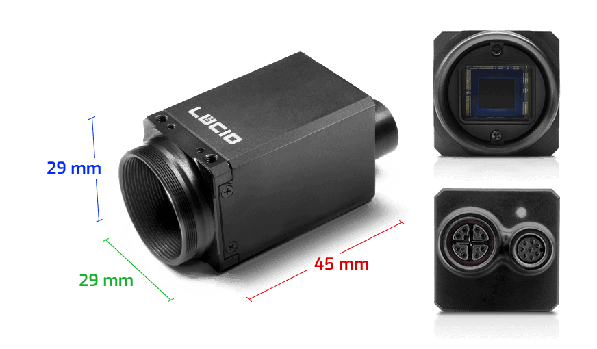 Triton machine vision gige ip67 camera