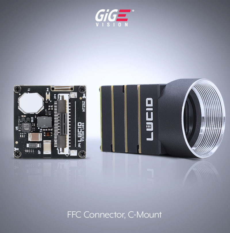 13 phoenix camera c mount ZIF FFC image 1