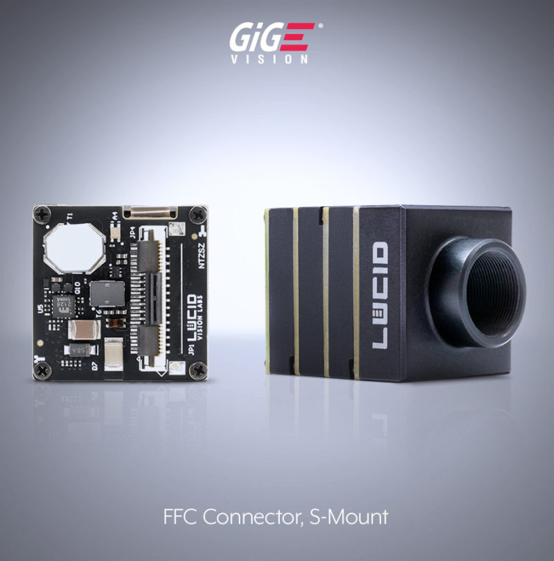 15 phoenix camera S mount ZIF FFC side image